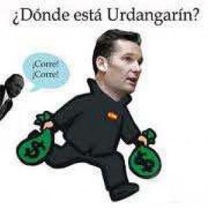 Urdangarin corriendo con el dinero